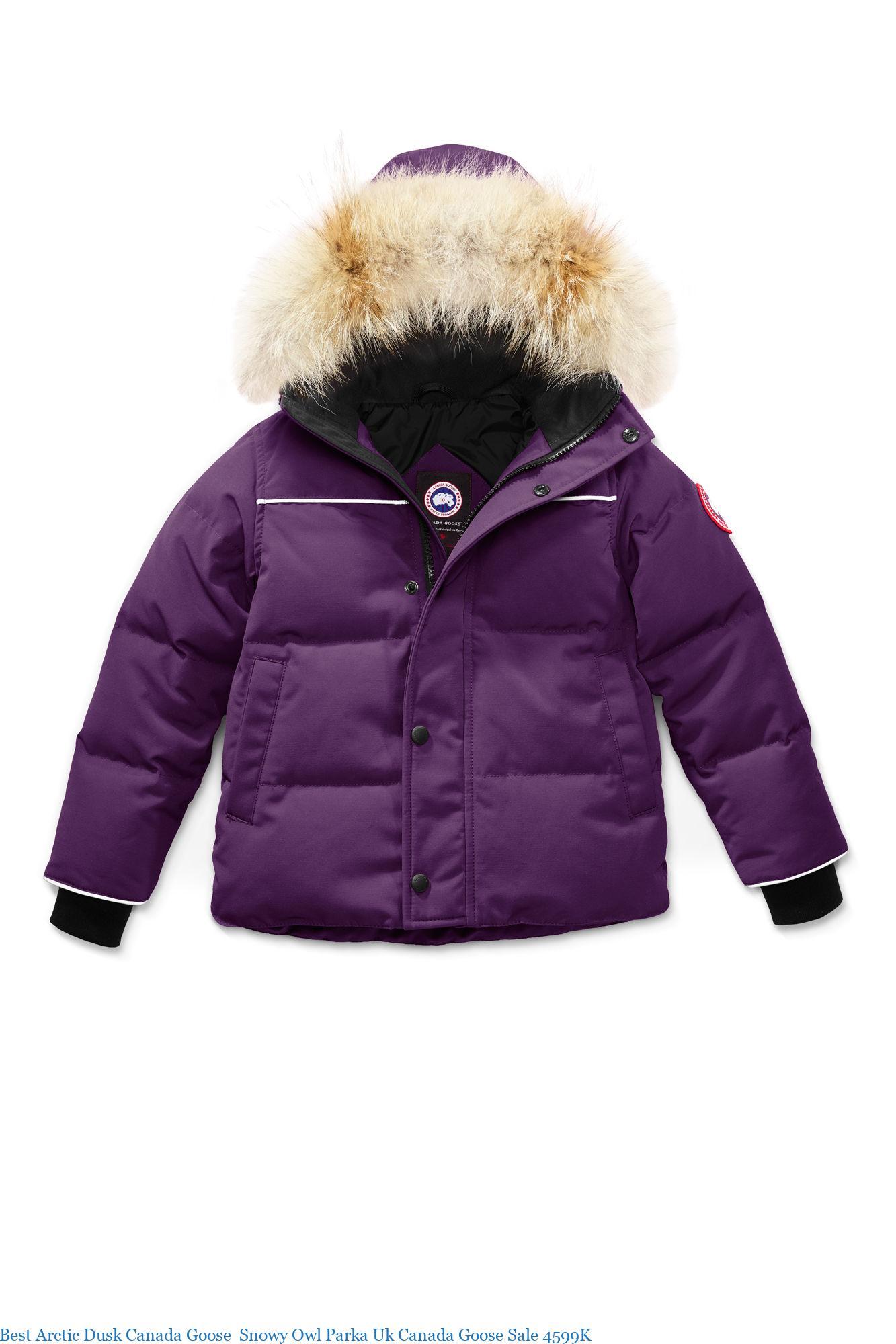 Best Arctic Dusk Canada Goose Snowy Owl Parka Uk Canada Goose Sale 4599K
